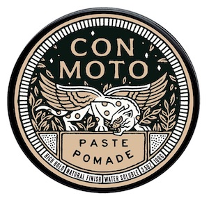Jar of Con Moto matte paste pomade - best matte finish pomades