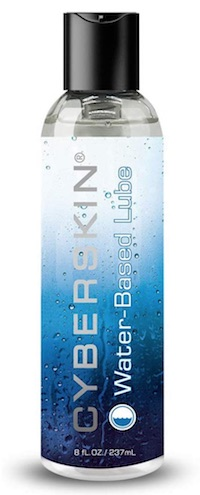 Bottle of Cyberskin - best personal lube for sensitive skin