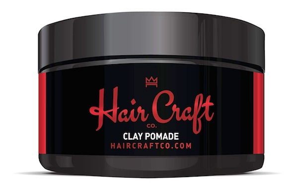 Jar of Hair Craft Co. matte clay pomade - best matte finish pomades