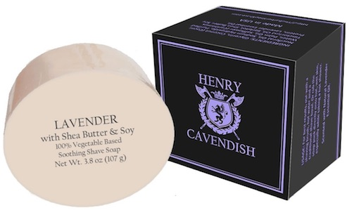 Henry Cavendish shave soap - best smelling shave soaps for men