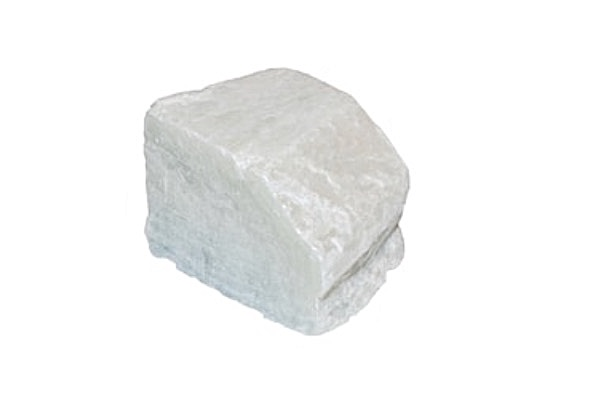 A piece of talc deposit