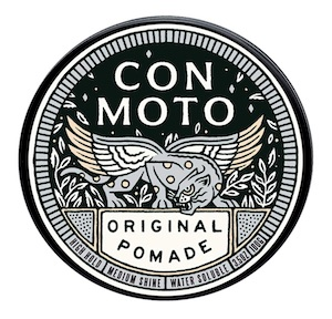 Tin of Con Moto pomade