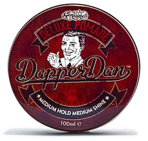 Tin of Dapper Dan pomade