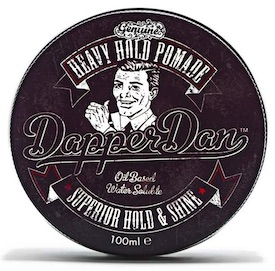 Tin of Dapper Dan Heavy Hold Pomade