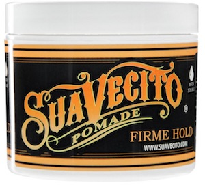 Jar of Suavecito firm hold pomade
