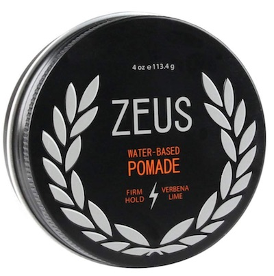 Tin of Zeus Pomade - best smelling pomades for men
