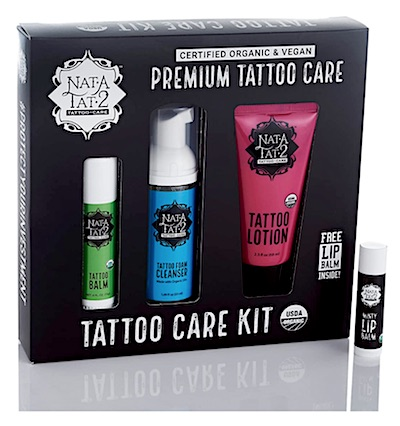 Nat-A-Tat2 Tattoo Care Kit boxed set