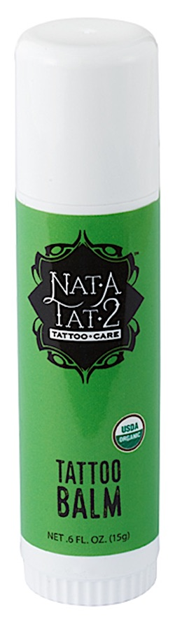 Stick of Nat-A-Tat2 Tattoo Balm