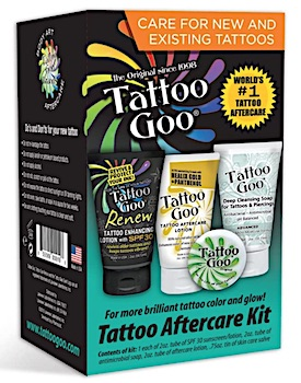 Tattoo Goo Aftercare Kit boxed set