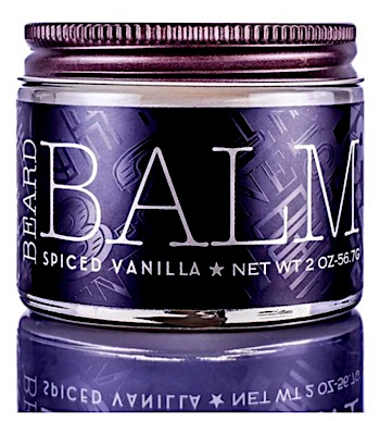 Jar of 18.21 Man Made beard balm - Spiced vanilla scent
