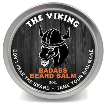 Tin of Badass Beard Balm - The Viking Scent