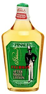 Bottle of Clubman Pinaud Aftershave Lotion