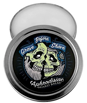Tin of Grave Before Shave - Aphrodisiac scent