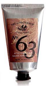 Tube of Pre de Provence No. 63 aftershave balm