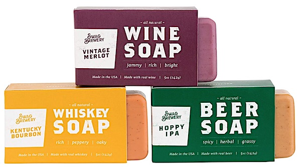 Swag Brewery Boozy Soap 3 pack