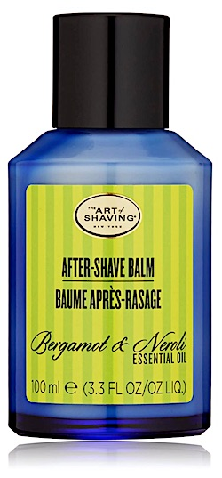 Bottle of The Art of Shaving aftershave balm - Bergamot & Neroli scent