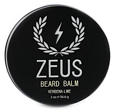 Tin of Zeus Beard Balm - Verbena Lime scent