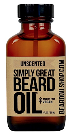 Bottle of Simply Great Beard Oil - Unscented
