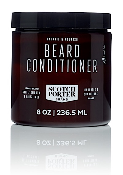 A jar of Scotch Porter beard conditioner