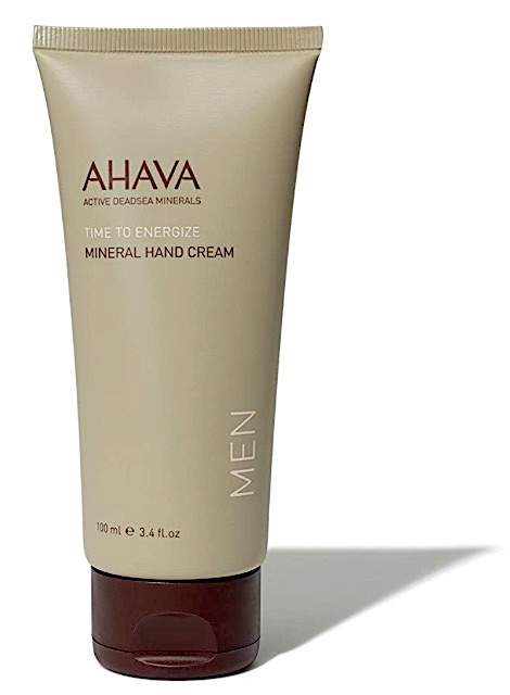 Bottle of Ahava Mineral Hand Cream