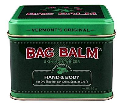 Tin of Bag Balm hand ointment
