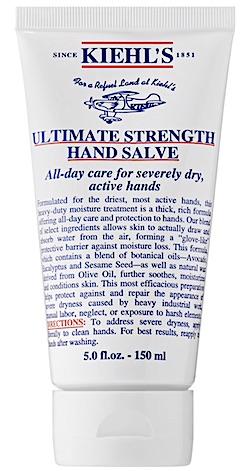 Bottle of Kiehl's Ultimate Strength Hand Salve