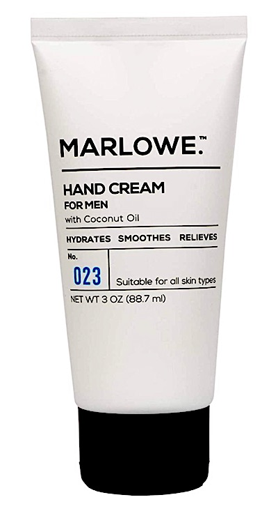 Bottle of Marlowe Hand Cream