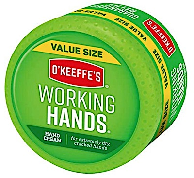 Jar of O'Keeffe's Woking Hands Cream