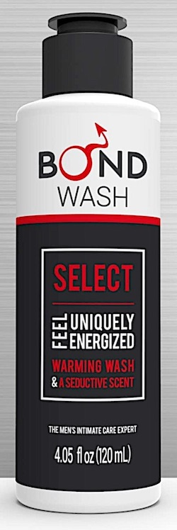 Bottle of Bond ball wash for men