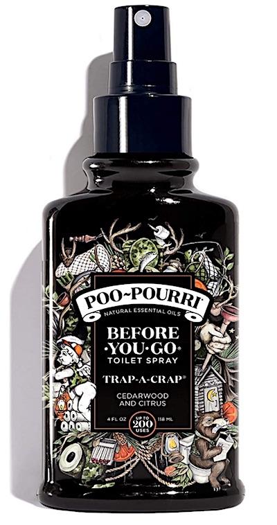 Spray bottle of Poo-Pourri