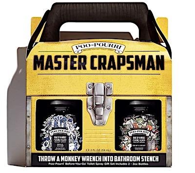 Poo-Pourri Master Crapsman gift box