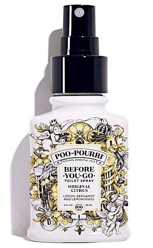 Bottle of Poo-Pourri Original Citrus scent.